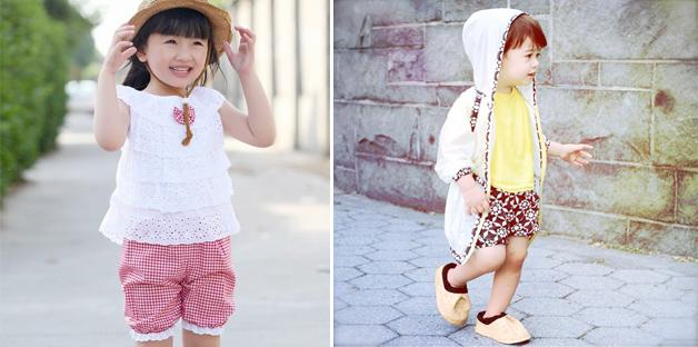 abbigliamento estivo bambini