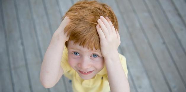 Perché un bambino si picchia da solo sulla testa  - Bimbi 15d0555515e